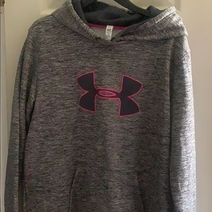 Tops - Women's Under Armour hoodie size large